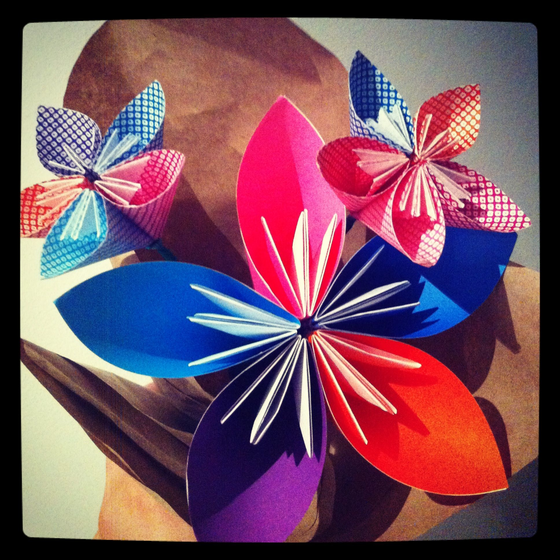 Origami Kusudama Flower Bouquet. decor origami kusudama paper flower ...
