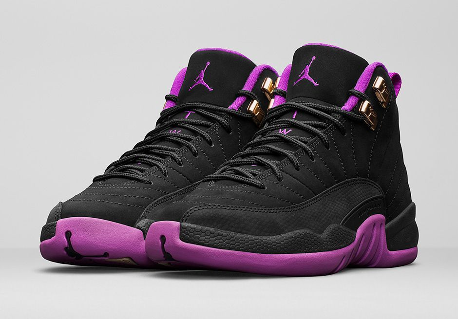 innovative design ff43a 692ce This Black   Purple Air Jordan 12 Releases On Saturday