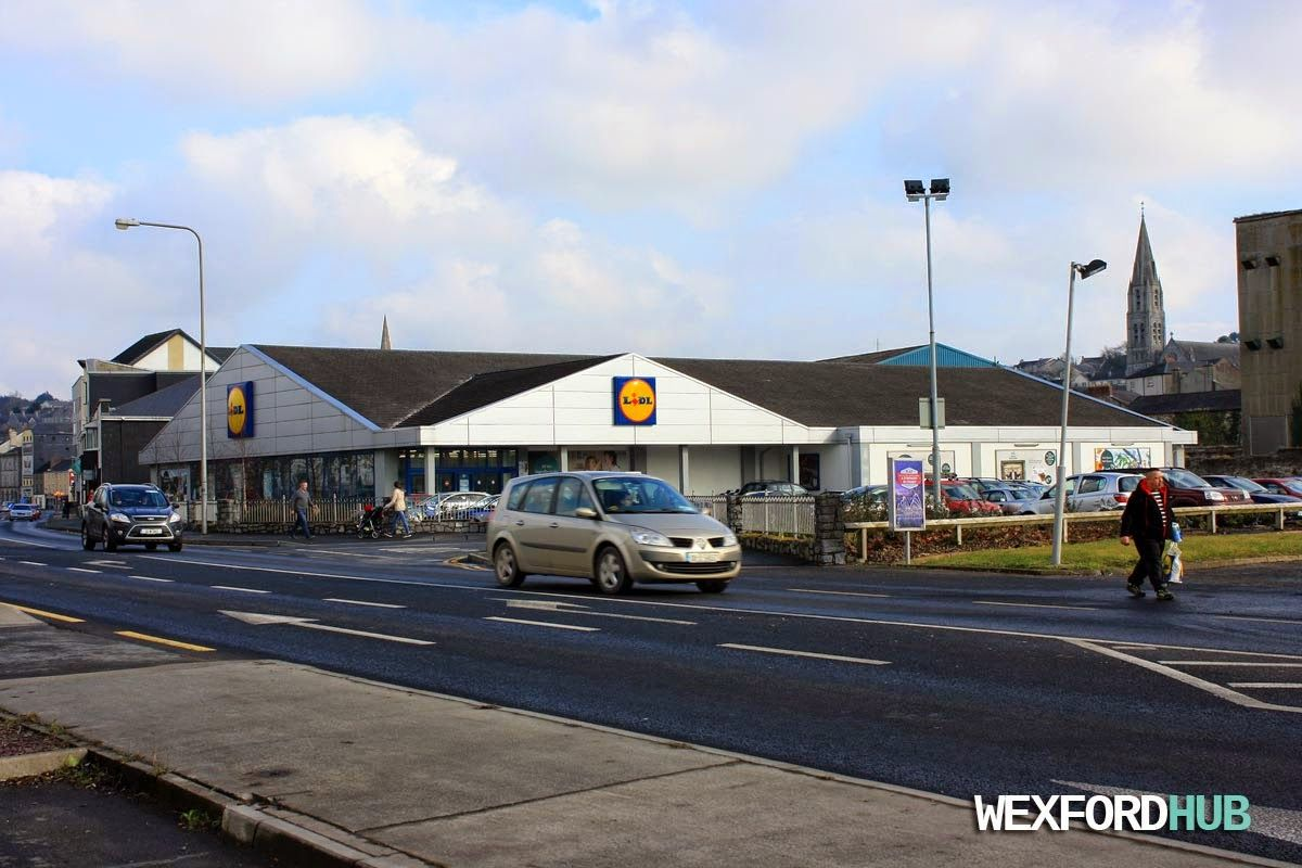 The LIDL supermarket store in New Ross.