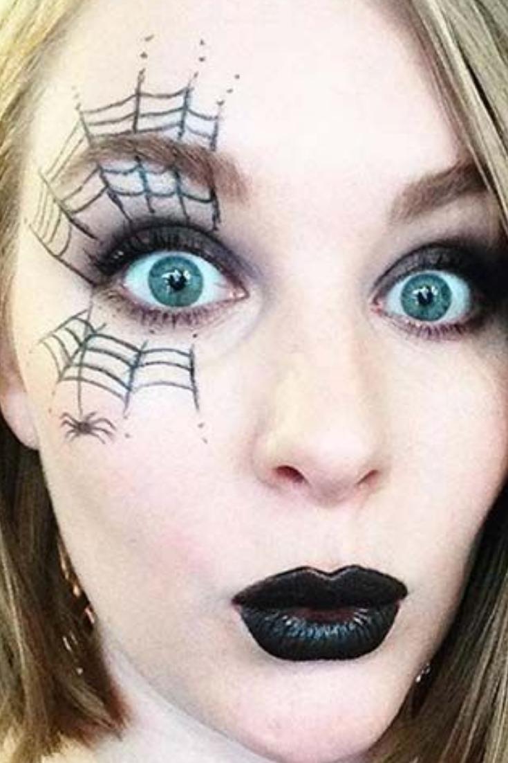 7 Spider Web Eye Makeup di 2020