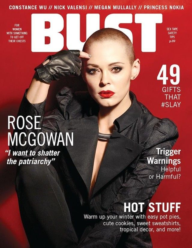 Rose For The November Issue Of Bust Magazine Now On Stand Rose Est