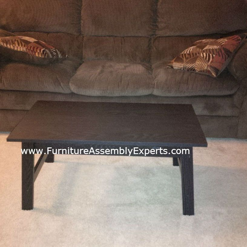 Mainstay Coffee Table.Walmart Mainstay Coffee Table Assembled In Mclean Va By Furniture
