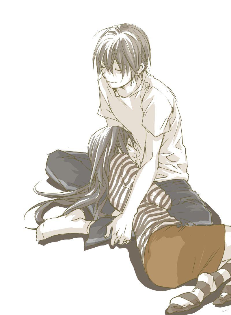 Noragami- Yato x Hiyori #Anime #Yatori