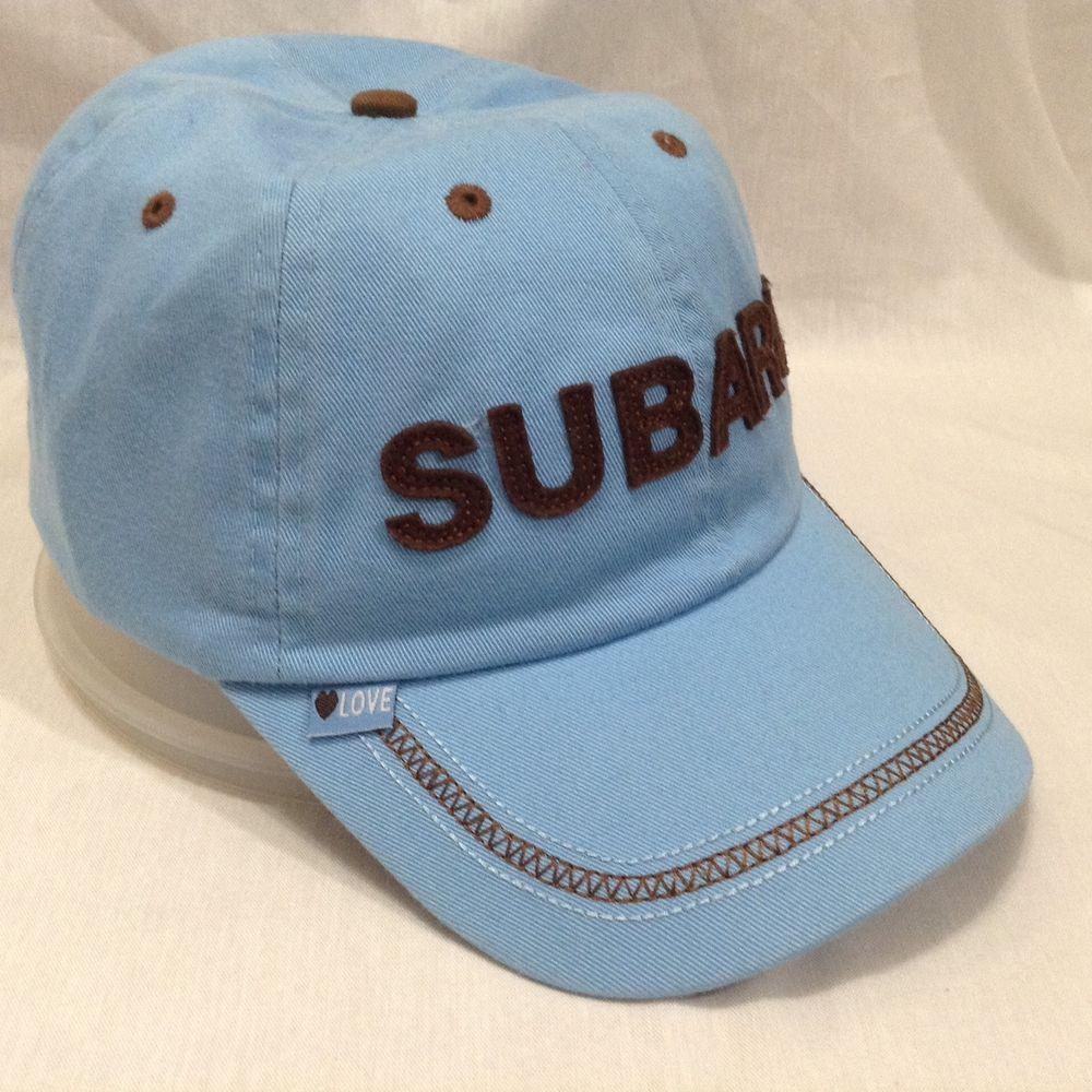 220607fcf21 Subaru Baby Blue Brown Love Hat Snapback Baseball Cap Trucker Hat  HaT   BaseballCap