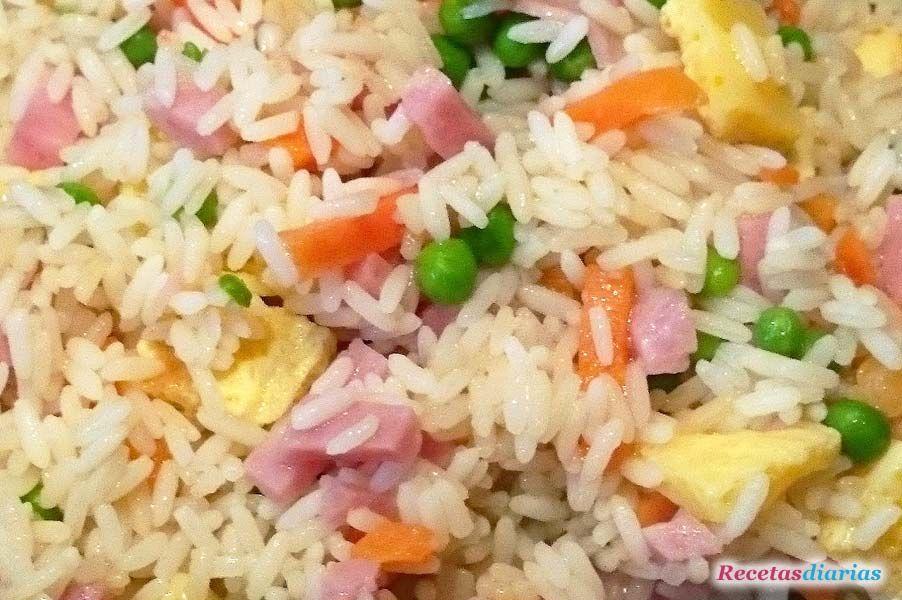 Arroz Tres Delicias Receta De Cocina Receta Recetas Con Arroz Arroz Tres Delicias Recetas De Cocina