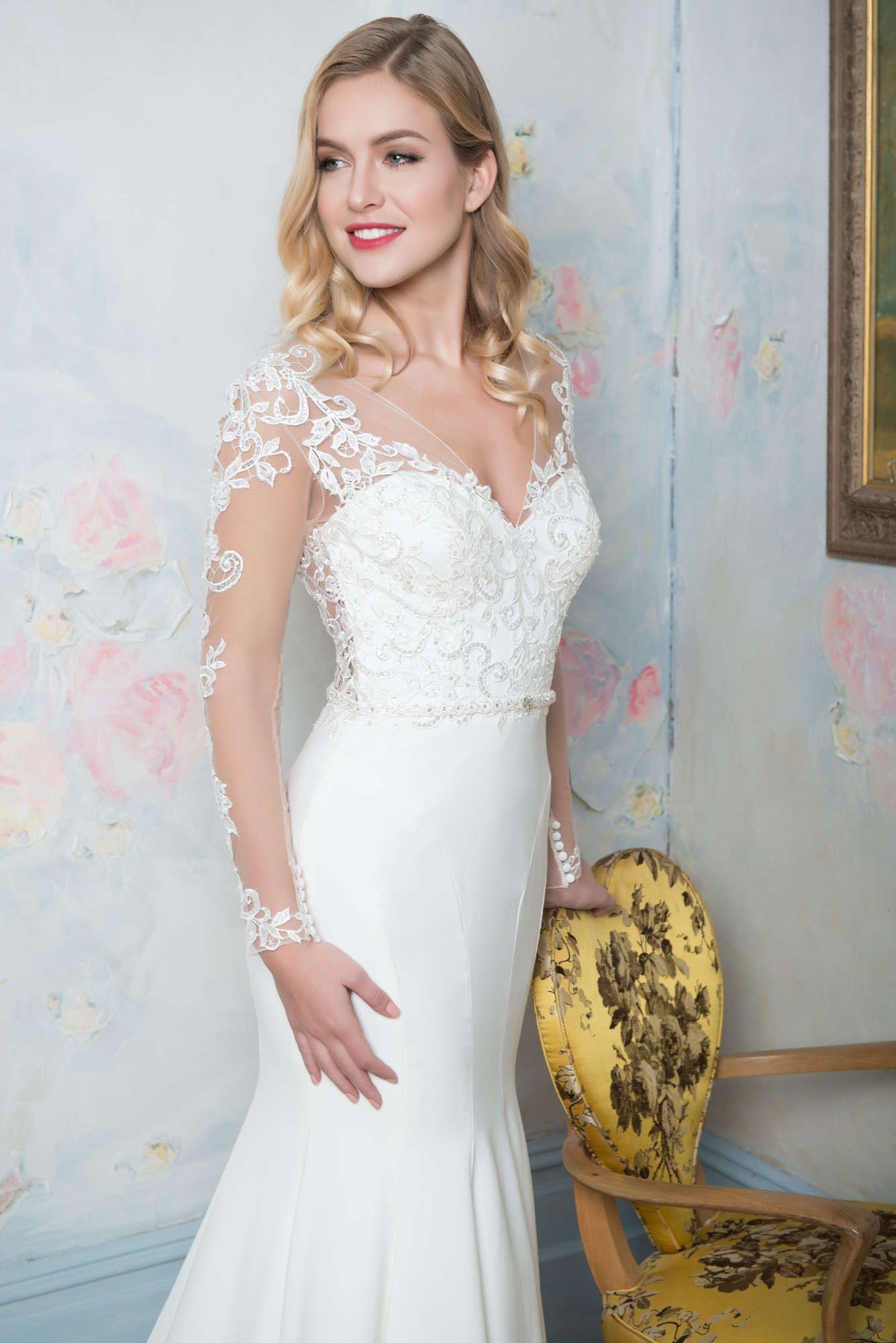Ivette Bridal Heritage Backless Body 36030 Designer