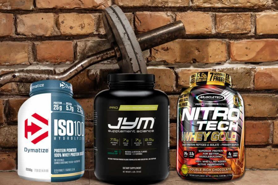 أفضل 10 مكملات واي بروتين يفضلها لاعبو الحديد وكمال الأجسام Cold Brew 100 Whey Muscletech