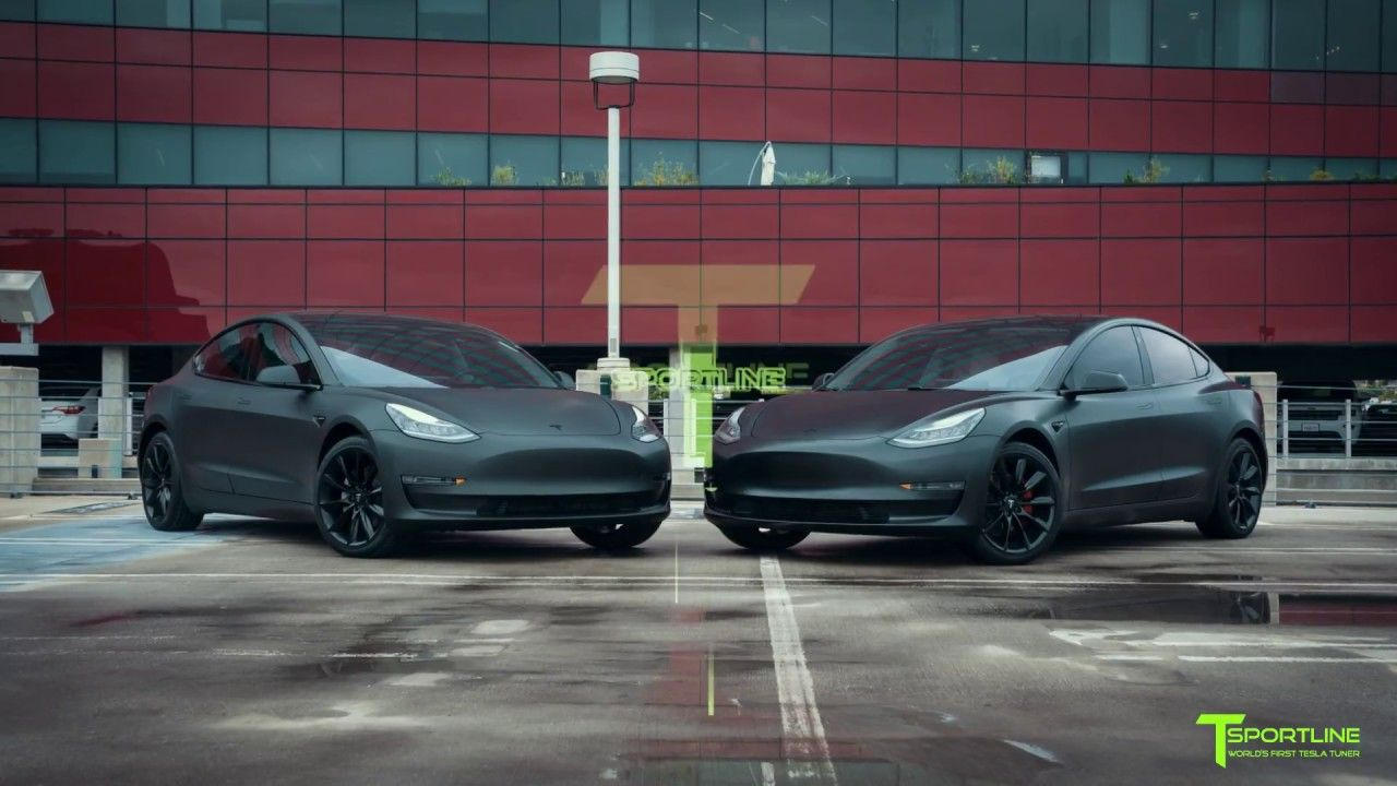 Matte Black Vs Satin Black Tesla Model 3 Which Would You Choose Tesla Model Tesla Matte Black
