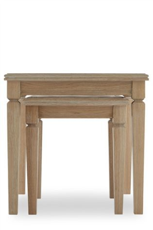 Next Hardwick Nest Of 2 Table Table Furniture