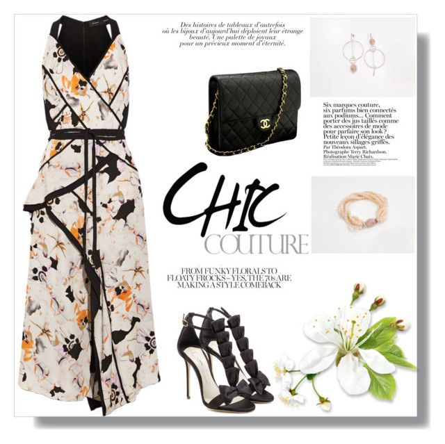 """""""Chic Fall Ideas"""" by dreamfashionjewelry ❤ liked on Polyvore featuring Proenza Schouler, Chanel, Olgana and Anja"""