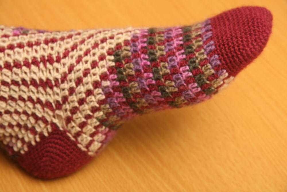 Patrón Calcetines Gilb | Abejitas | Un panal de rica artesanía ...