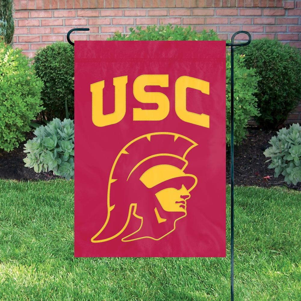 Party Animal Inc Usc Trojans Premium Garden Flag Gmusc Animal