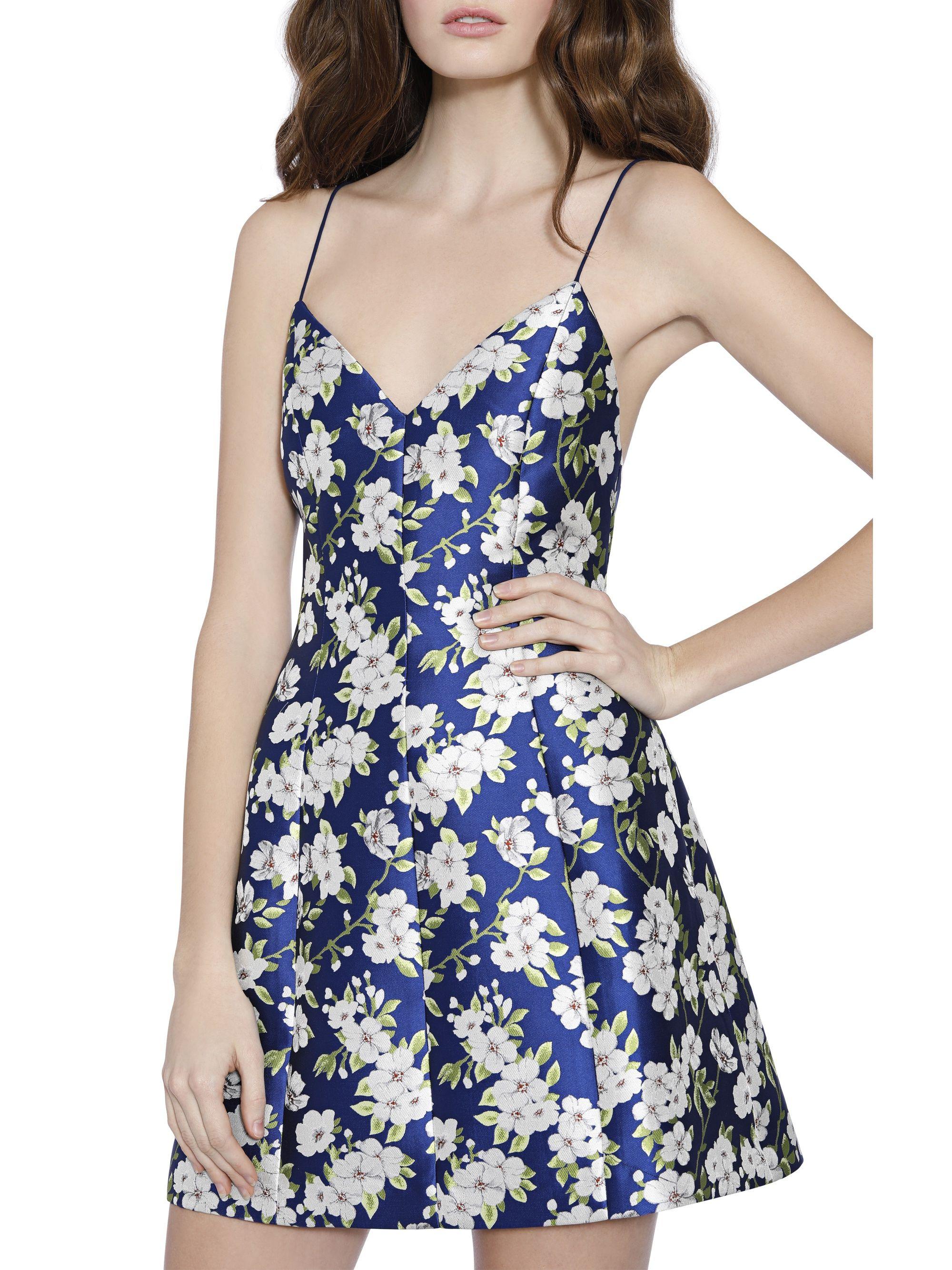 ab0f71dd8b95 TAYLA STRUCTURED LANTERN MINI DRESS by Alice + Olivia | Spring ...