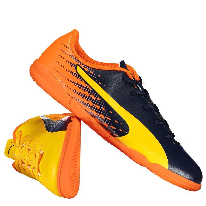 737b50711c Chuteira Puma Evospeed 17.5 Tricks IT Futsal Juvenil Somente na FutFanatics  você compra agora Chuteira Puma