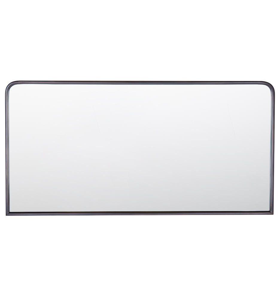 Metal Framed Mirror Rounded Rectangle Rejuvenation Metal