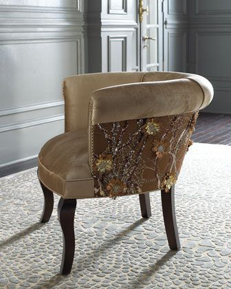 Elegant Thereu0027d Be A Tape Across It, Like In The Tour Houses! Portuguese Lace Chair    Haute House (Into The Wild Chair / Ottoman ... Nice Design