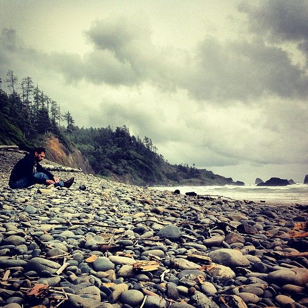 Indian Beach: Indian Beach @ Ecola State Park, Oregon Coast. Mr