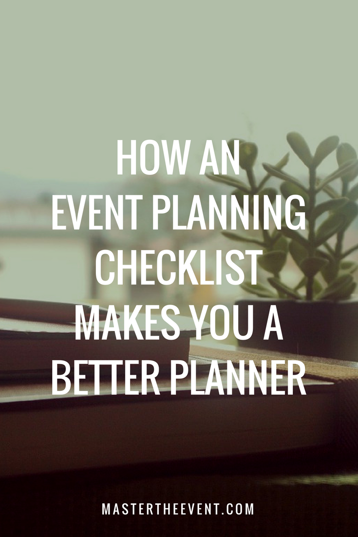 wedding planning checklist spreadsheet free%0A How an Event Planning Checklist Can Make You a Better Planner