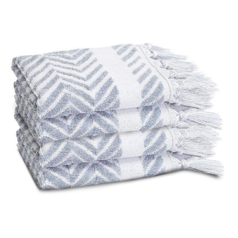 c23f4abf5554 Linum Home Textiles Assos Turkish Cotton Washcloth - Set of 4 - ASO50-4WC