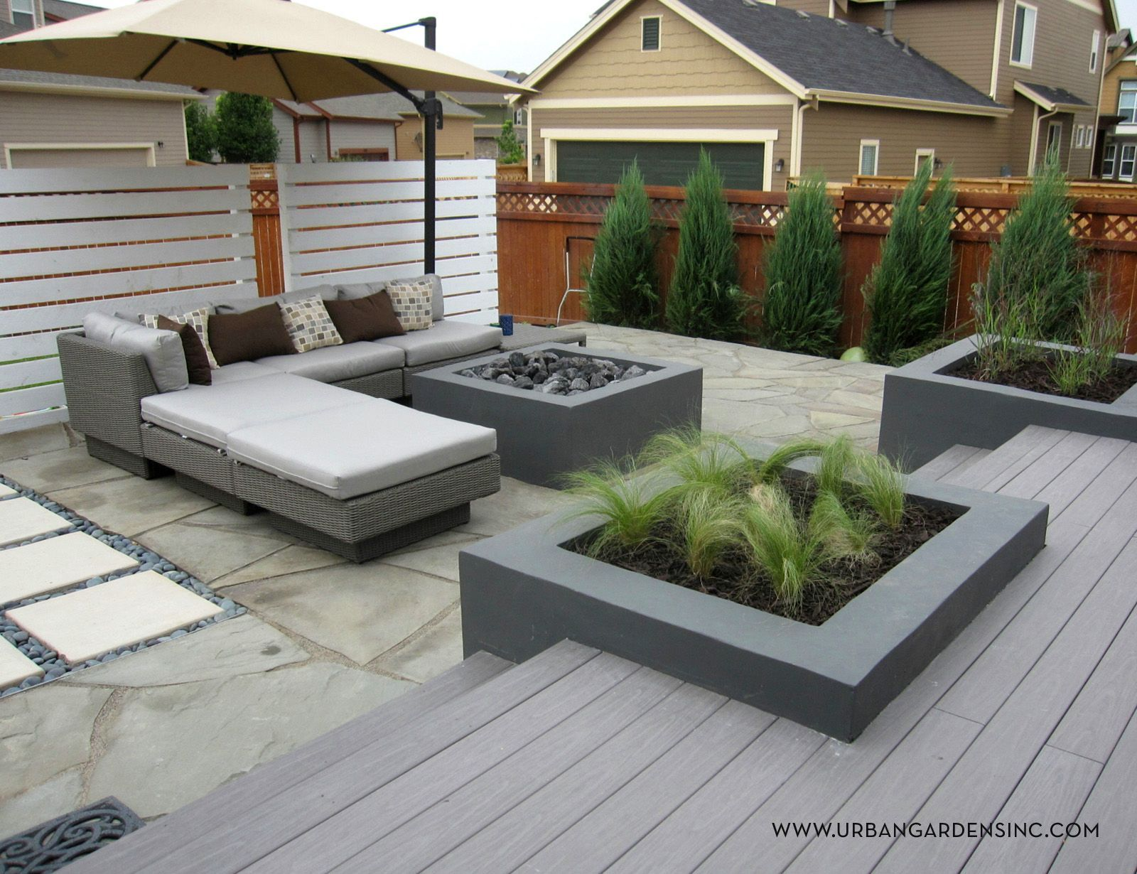 Home Landscape Designs - Urban Gardens - Landscape Design #Interiordesignideasandthings