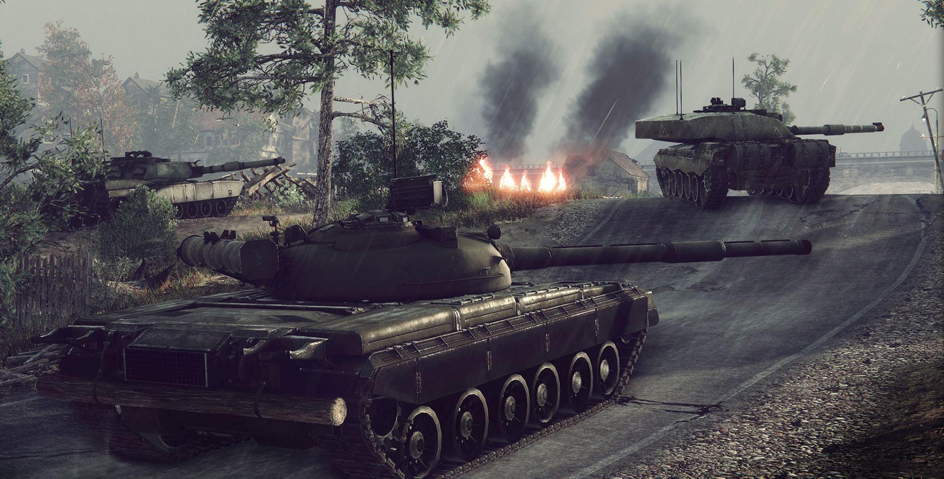 Panzer-MMO Armored Warfare angekündigt  Obsidian Entertainment haben auf der GDC bekannt gegeben, am kostenlosen Panzer-MMO Armored Warfare zu arbeiten.  Das Onlinespiel orientiert sich stark an World of Tanks. Ihr kommandiert mehrere Panzer in taktischen Teamschlachten oder in kooperativen Missionen. Dabei nutzt ihr die ...