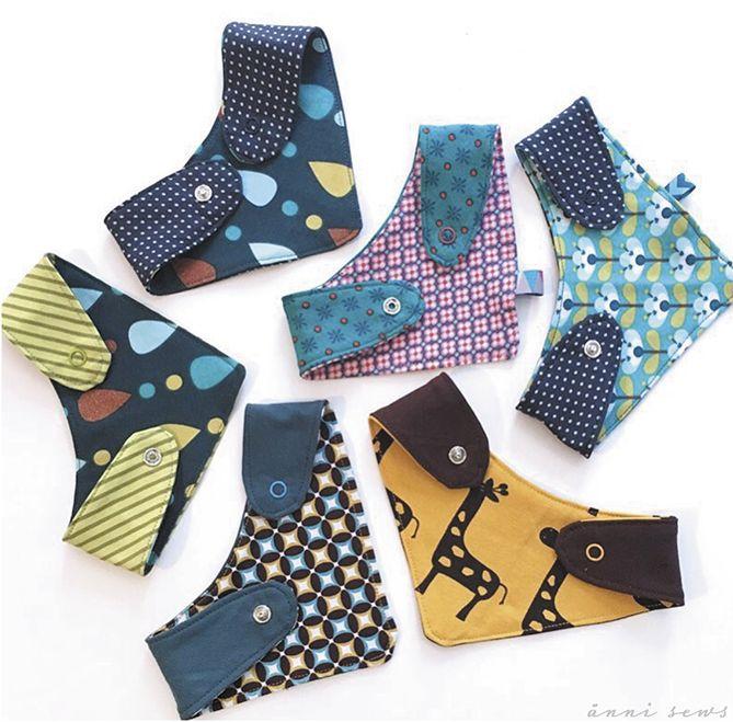 ännisews: Halstuch für Babys nähen *Freebie* #scarves
