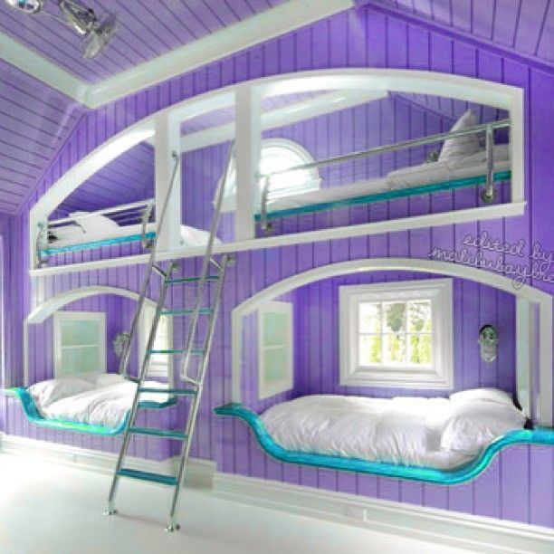 Purple Bedroom - @rooms_foreva- #webstagram