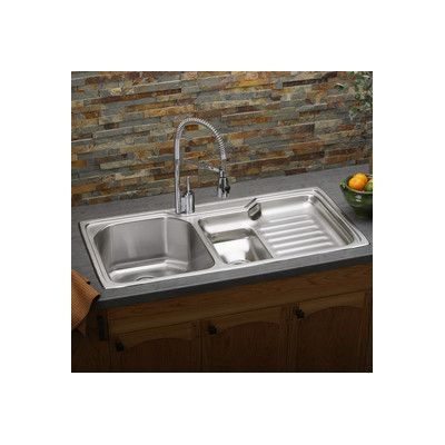 Medium image of elkay harmony 43   x 22   kitchen sink