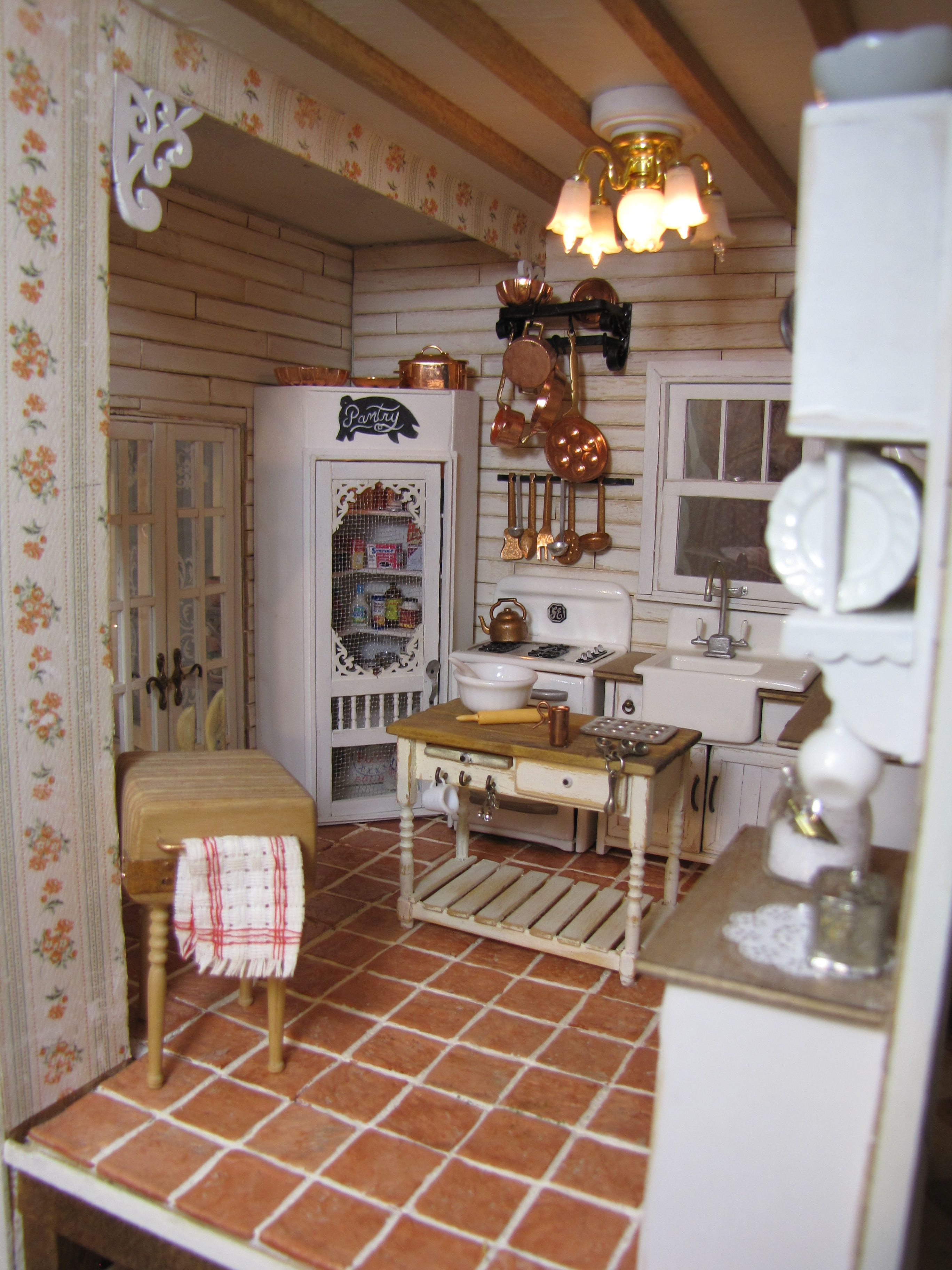 Beams Shiplap Shabby Chic Doll Houses Miniatures