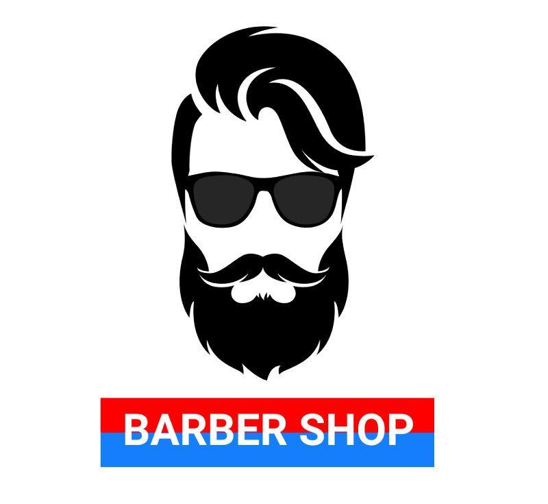 Barber Shop Logo Design Digital Download Vector Svg Pdf Jpg Shop Logo Shop Logo Design Barber Shop