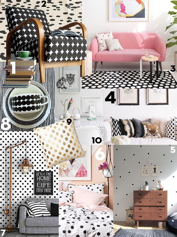 Fijne stippen in je interieur! - Home Ideas | Pinterest - Stippen ...