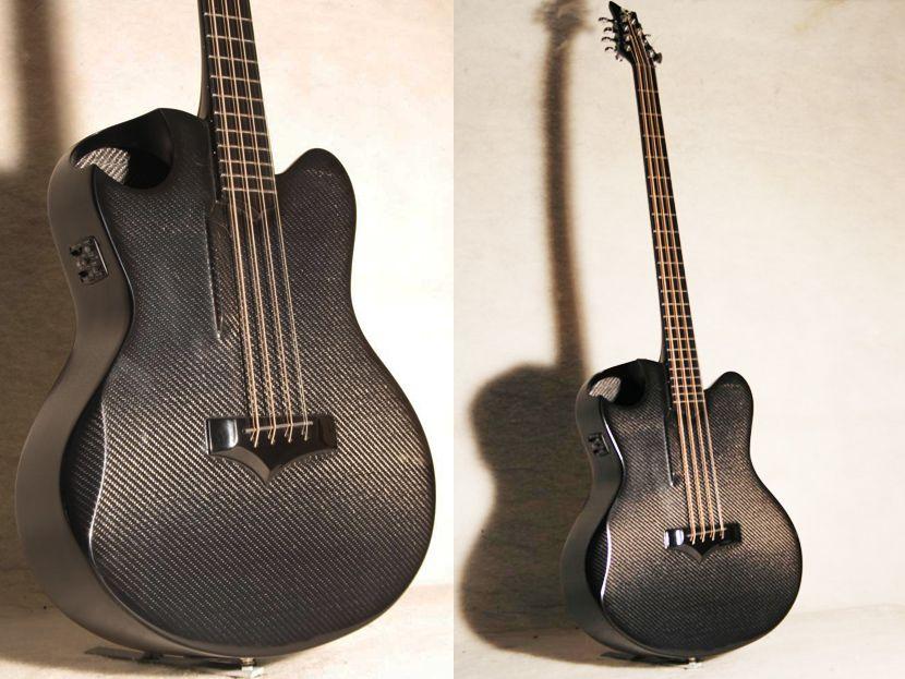 emerald guitars custom 8 string octave carbon fiber acoustic bass guitars guitar custom. Black Bedroom Furniture Sets. Home Design Ideas