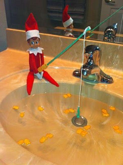 Lutin de Noël: 25 idées de tours pour votre lutin coquin #lutindenoel
