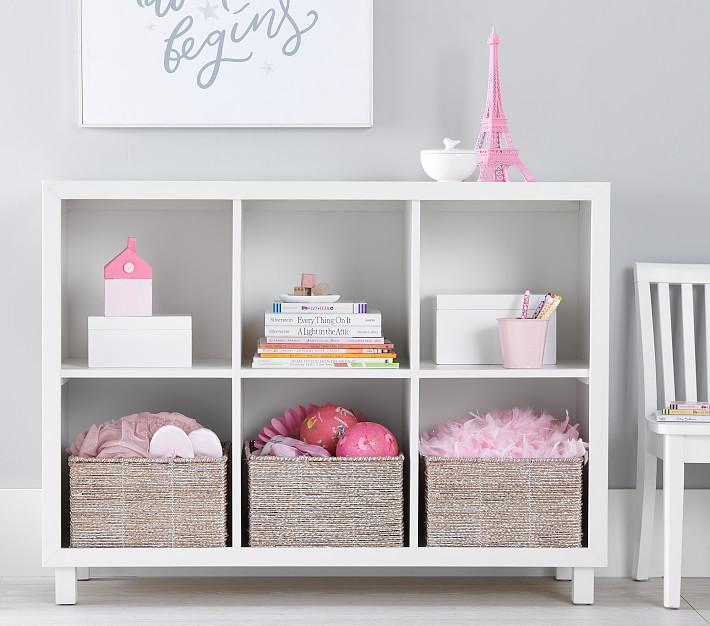 Horizontal Cubby Bookcase In 2020 Cubbies Kids Storage Furniture Bookshelves Kids