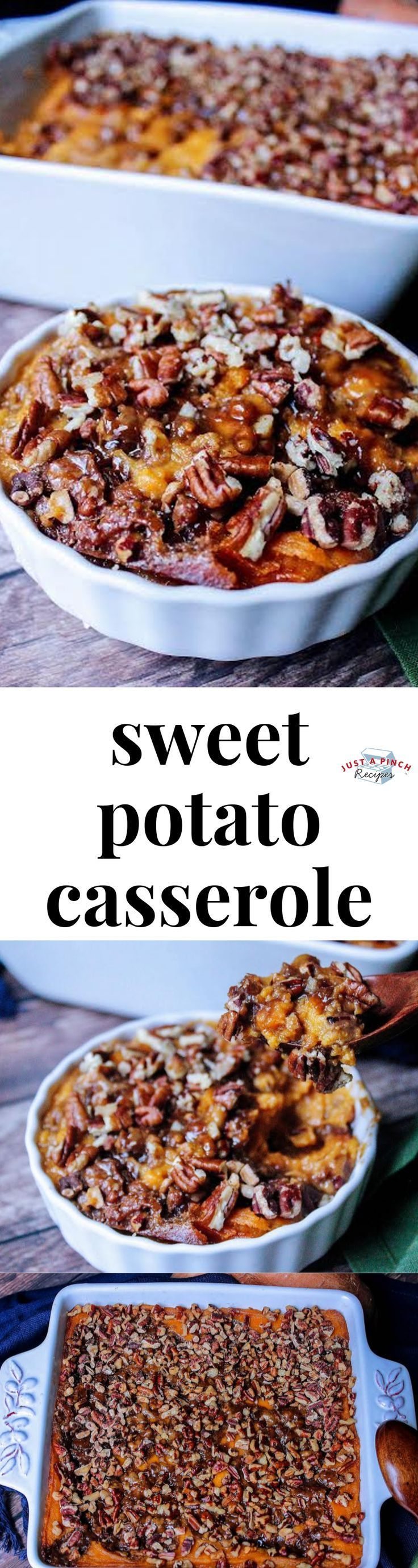 Sweet Potato Casserole - #casserole #potato #sweet - #New #thanksgivingrecipessidedishes