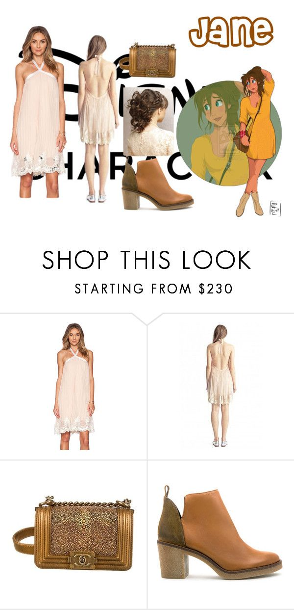 """""""disney - Jane"""" by mduda0570 on Polyvore featuring Disney, Candela, Chanel and Miista"""