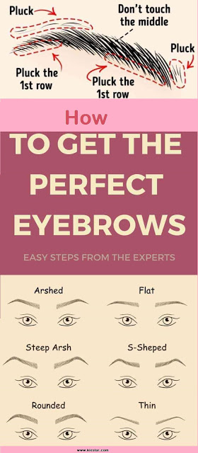 Tips How to Get the Perfect Eyebrows ? #perfecteyebrows