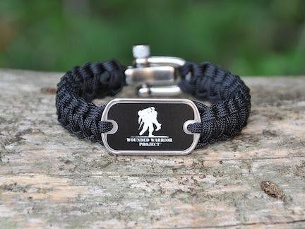 Light Duty Survival Bracelet Wounded Warrior Project
