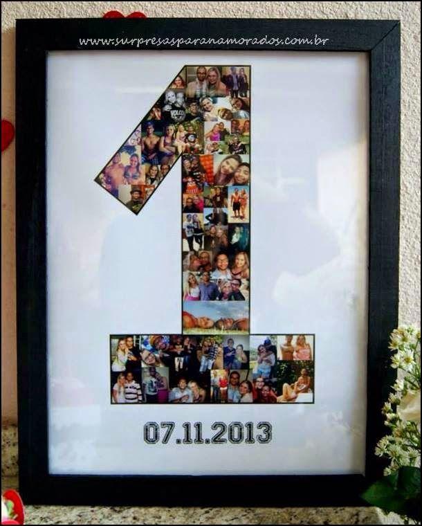 Aniversário De 1 Ano De Namoro Gifts Arts Anniversary