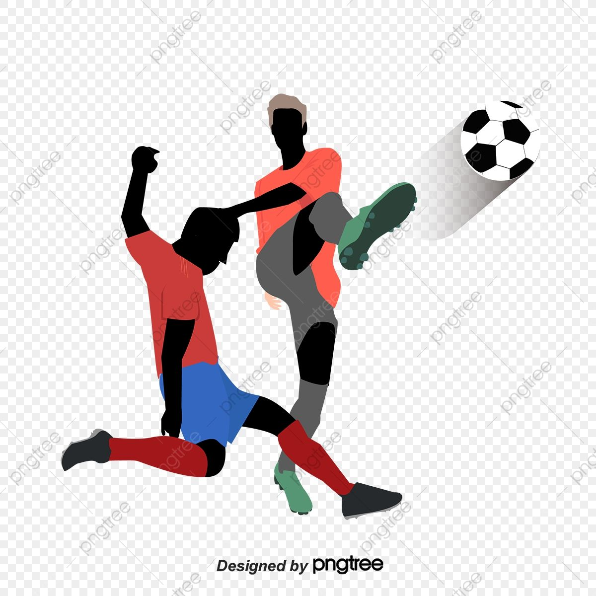 Football Vector Playing Football Clipart Play Football Png And Vector With Transparent Background For Free Download Football Playing Football Soccer Backgrounds