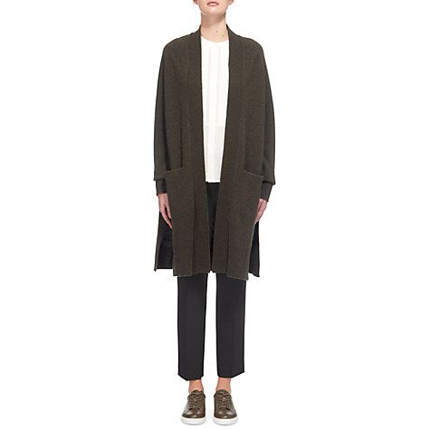 Buy Whistles Boiled Wool Cardigan Online at johnlewis.com ...