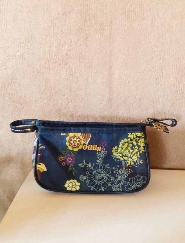 29093f77162d1d Oilily Kosmetiktasche mit herausnehmbaren Spiegel floral blau -  kleiderkreisel.de Kosmetiktaschen | Damen