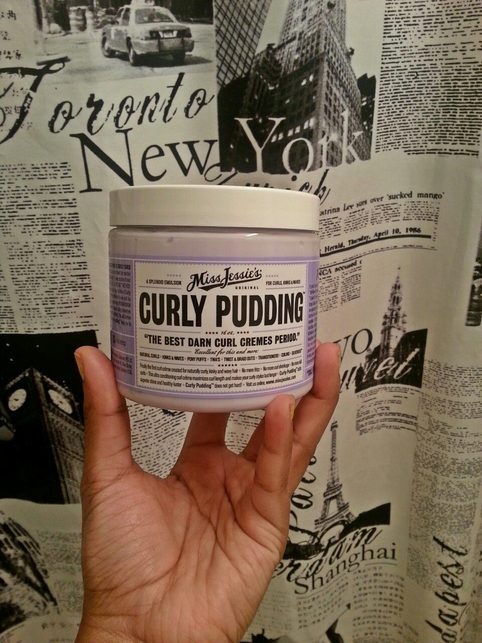 Curly Pudding! #NYC