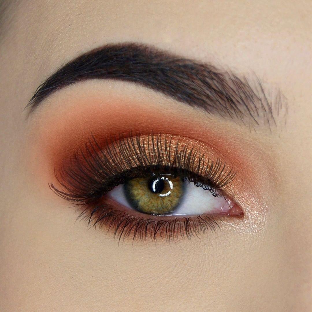 beauty & makeup EyeMakeupBronze in 2020 Orange