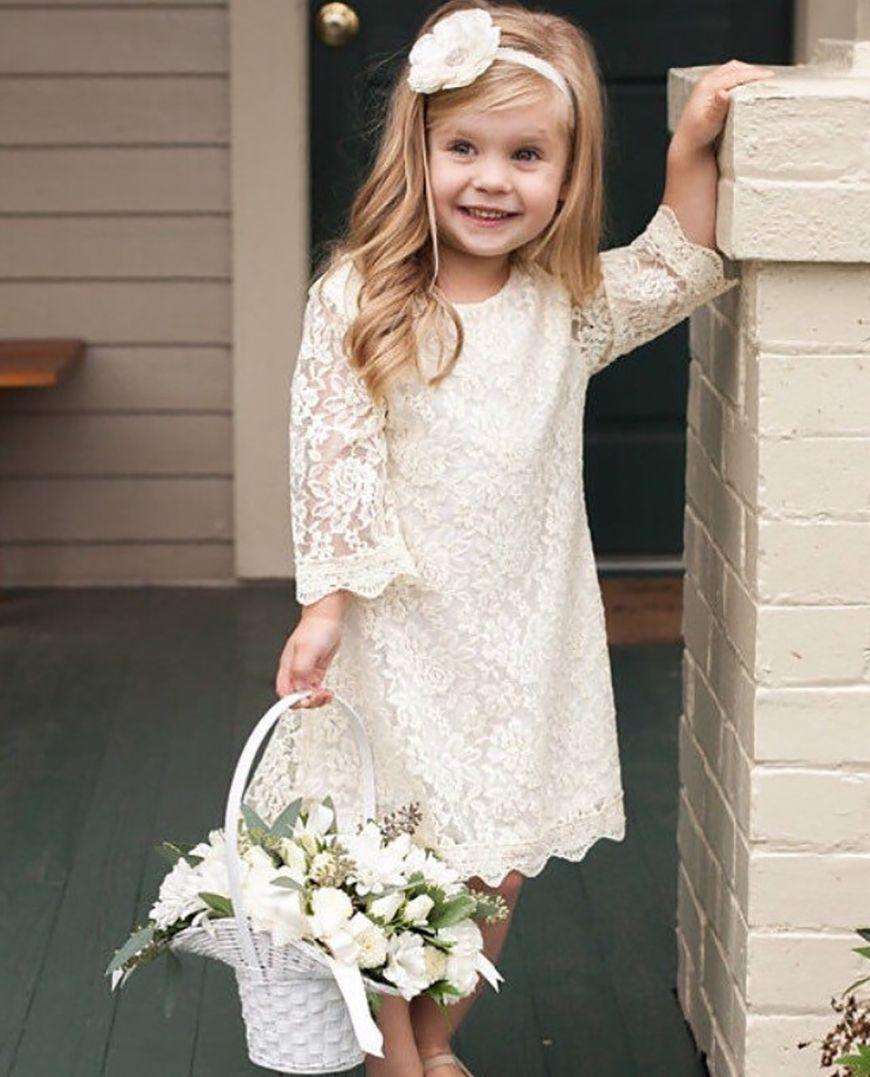 df8df6aa2520 Wedding Ideas by Colour  Cream Little Bridesmaid Dresses