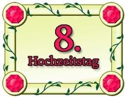 8 Hochzeitstag Gluckwunsche Und Spruche Blecherne Hochzeit Fur