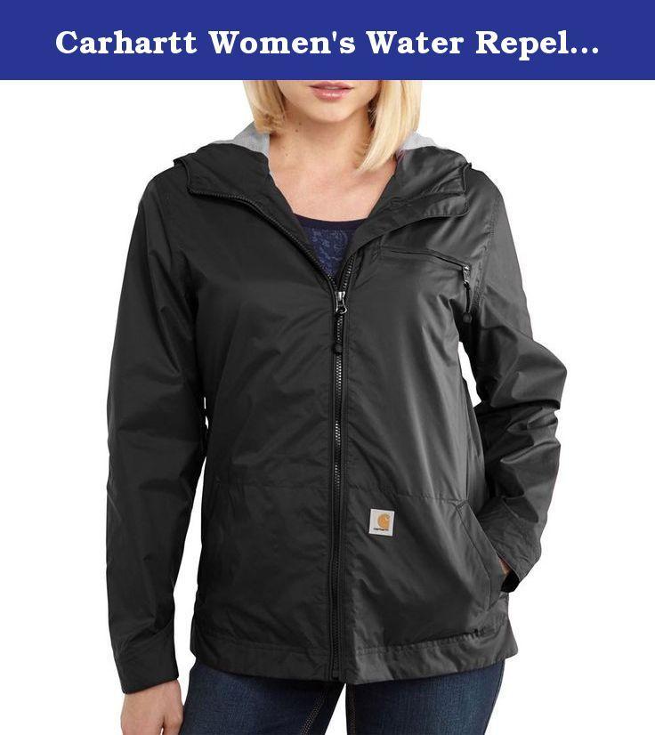 39c0d7770d6 Carhartt Women s Water Repellent Rockford Windbreaker