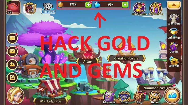 Pin On Idle Heroes Hack Gems And Gold 16