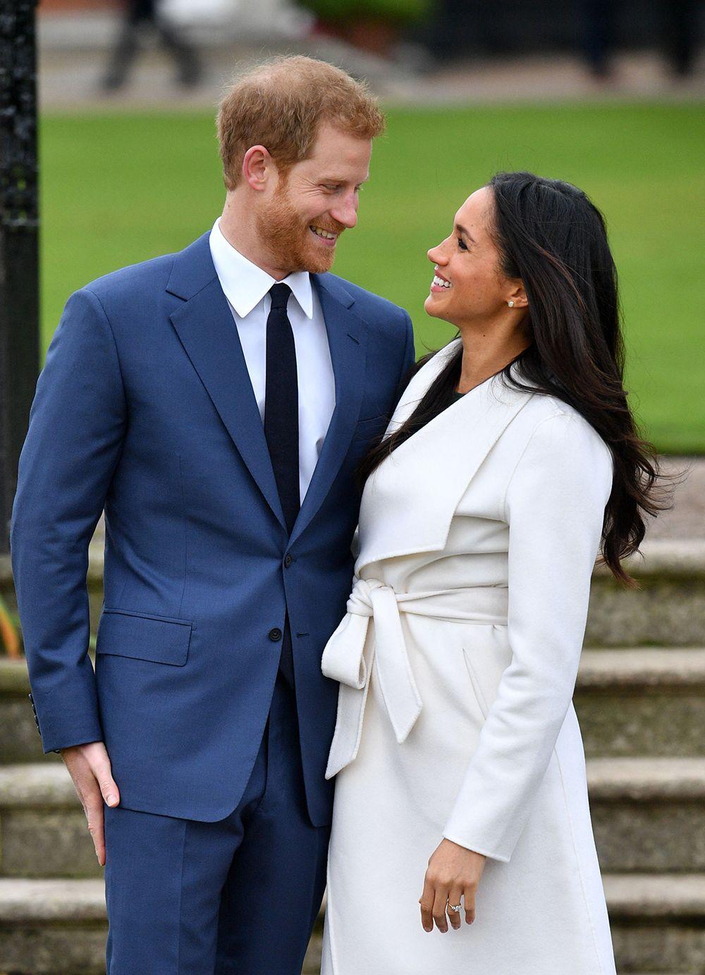 Prince Harry and Meghan Markle engagement announcement, Kensington Palace, London, UK – Nov. 27, 2017