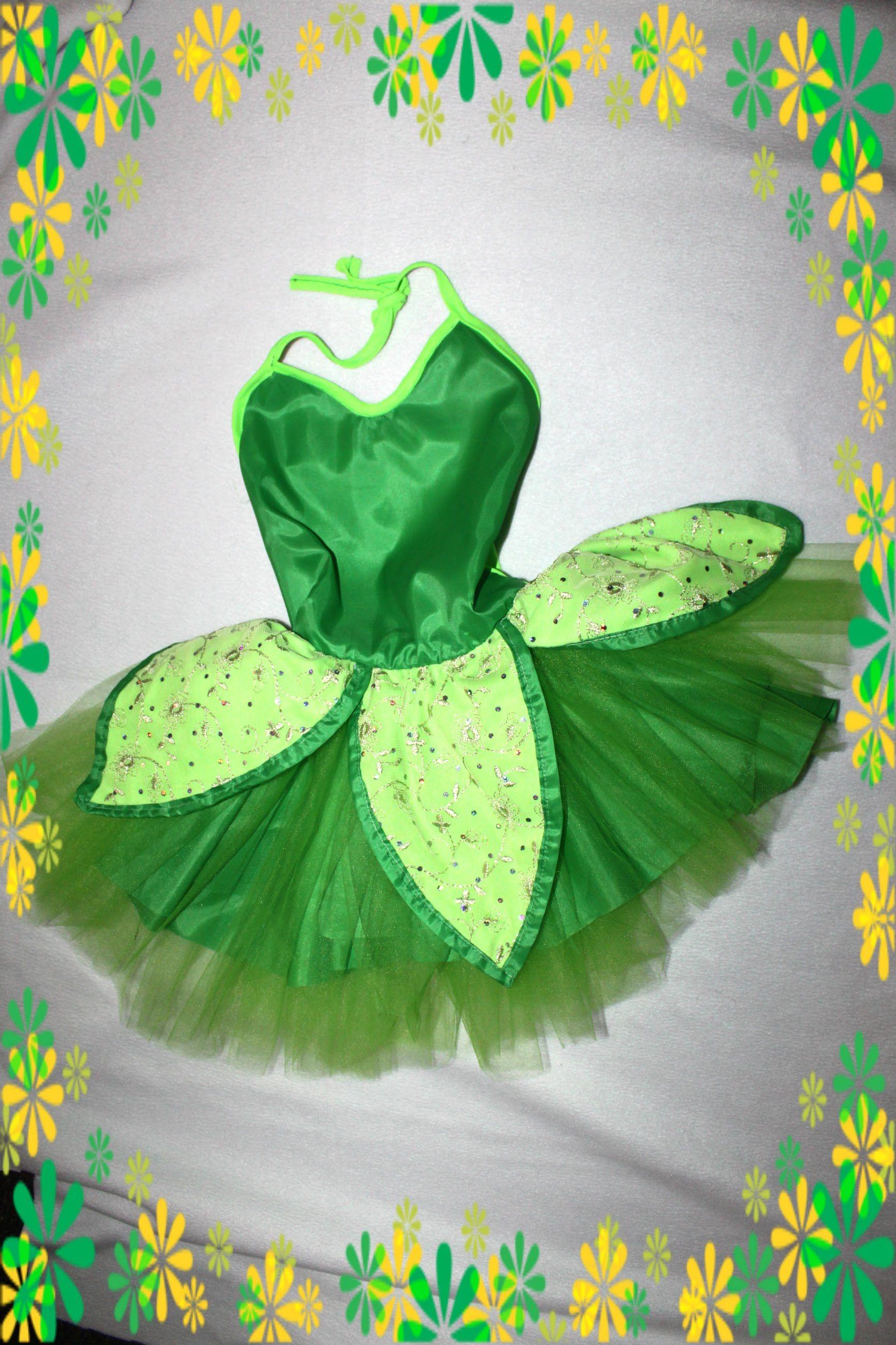 How To Tinkerbell Costume Easy Disfraz De Campanita Facil